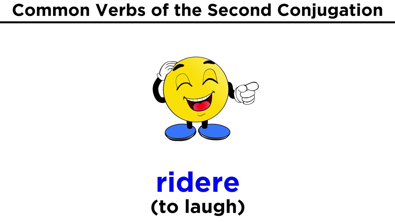 Conjugating italian verbs ending in ere also youtube rh
