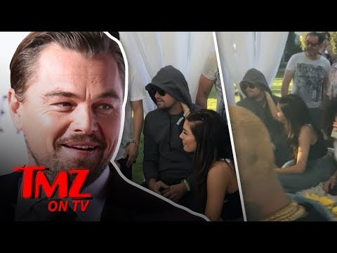Leo DiCaprio Attends Rihanna's Coachella Party With New Girl | TMZ TV
