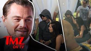 Leo DiCaprio Attends Rihanna
