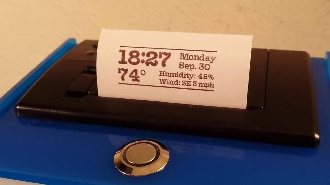 0035 Raspberry Pi Adafruit Lcd Plate Thermal Printer Youtube Adjustable Breadboard Power Supply Kit Industries