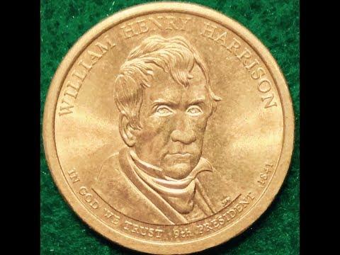2009 Dollar Coin: William Henry Harrison
