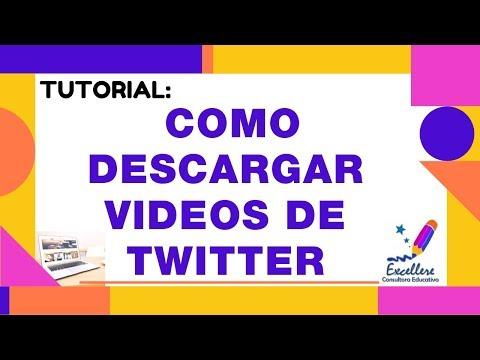 Tutorial: Como descargar videos de Twitter