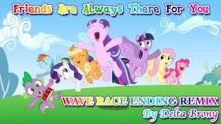 Friends Are Always There For You (Wave Race Ending Remix)