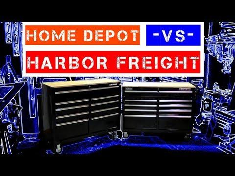 Harbor Freight -VS- Home Depot ( Yukon - VS - Husky ) 46