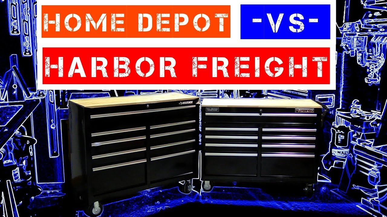 Harbor Freight Vs Home Depot Yukon Vs Husky 46