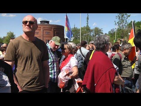 Björn Höcke spricht zu AfD Veranstaltung in Zwickau