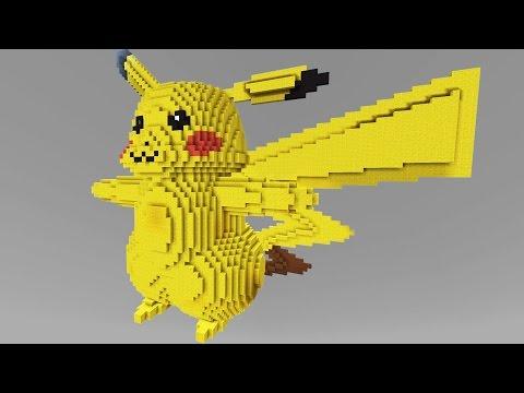 Minecraft vs Pokemon go | GIGA PIKACHU!! | (PvZ/Pokego Land) - Видео из Майнкрафт (Minecraft)