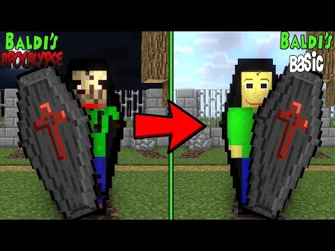 Monster School: RIP BALDI'S APOCALYPSE CHALLENGE - Minecraft Animation