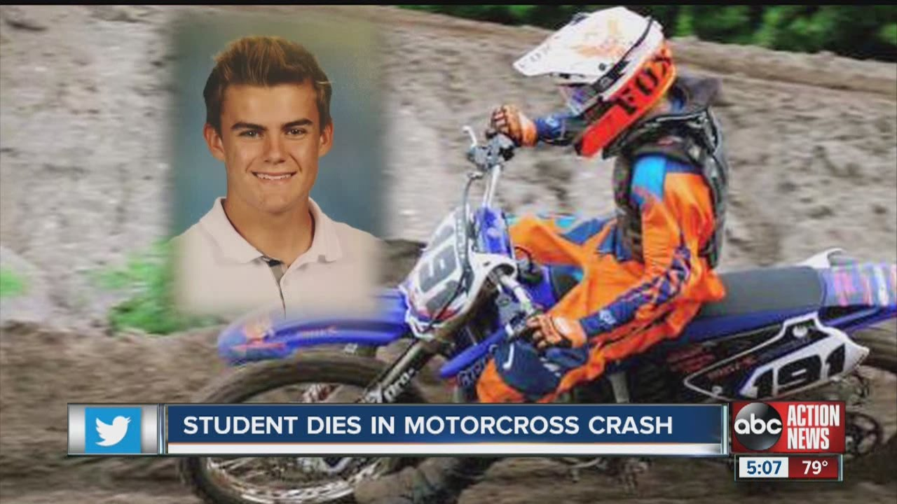 Students mourn teen killed in motocross crash in Clearwater
