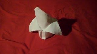 How To Fold Napkins - Crown Fold (napkin Folding)