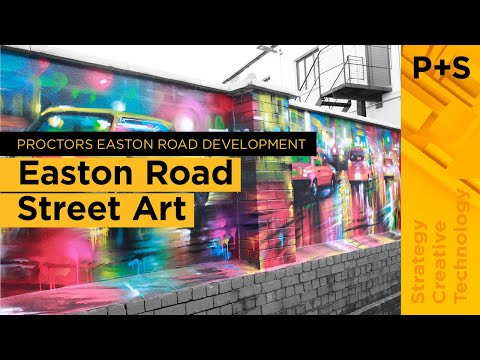 Dan Kitchener [DANK] on his street art for Proctor + Stevenson