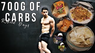 4000 Calorie Epic Cheat Day | 700 Grams Of Carb Refeed Day | IIFYM Full Day Of Eating