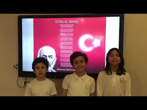 Etki Okulları - 4A Sınıfımızın 23 Nisan Videosu (İSTİKLAL MARŞI) :)