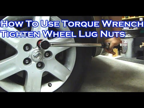 How to Adjust / Use / Store A Torque Wrench - Tighten Car Lug Nuts (Video 1)