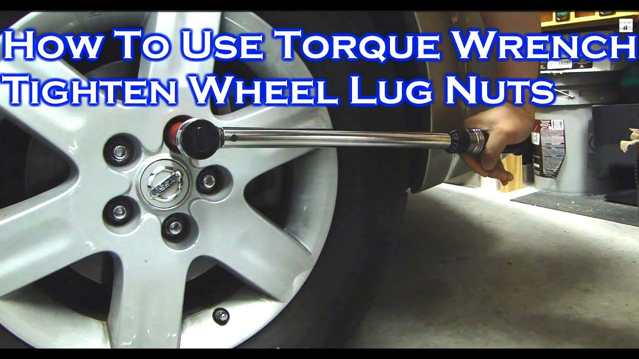 How To Adjust Use A Torque Wrench En Car Lug Nuts Video 1