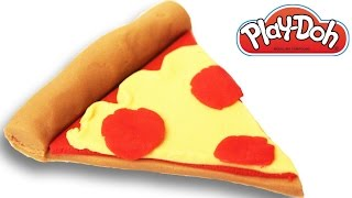Play Doh Pepperoni Pizza Slice How To Make