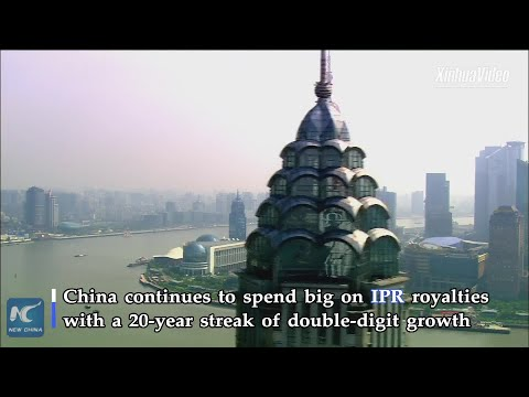 China spends big on IPR royalties values innovation more