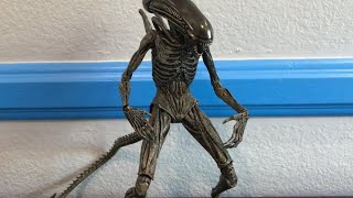 Neca alien: covenant xenomorph action figure review