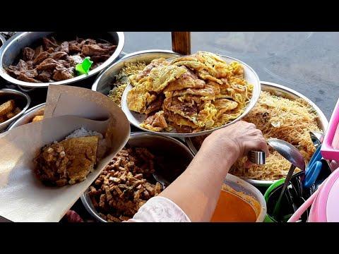 NASI UDUK PAKAI TELOR DADAR DEKET METRO TV - INDONESIA STREET FOOD