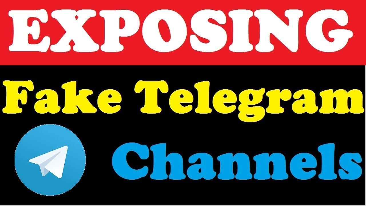Exposing Fake Telegram Channels Must Watch