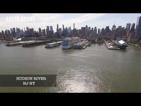NEW JERSEY , NEW YORK DRONE VIEW