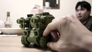 Papercraft Tank (100% paper & glue)