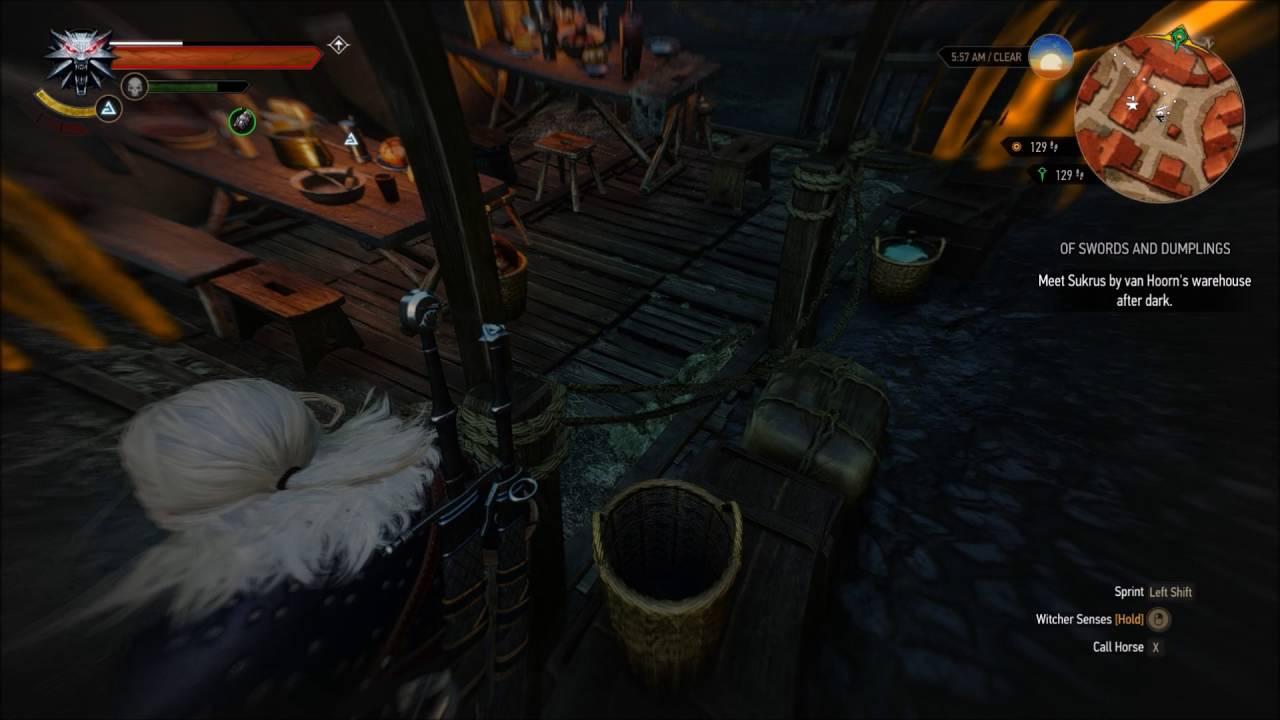 Witcher 3 Wild Hunt Premature Grindstone Indicator Bug Youtube