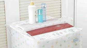 Áo Trùm Máy Giặt Trong Cửa Trên, cửa trước