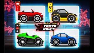Ninja City Tokyo Drift Clumsy Ninja Chasing Cars / Tinylab Games / Android Gameplay FHD
