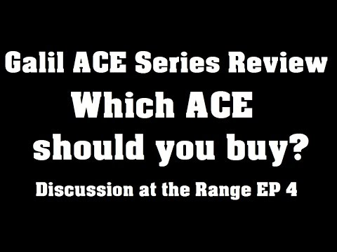 Best IWI Ace Model? - Discussion At The Range Episode 5