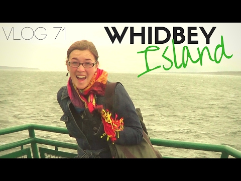 Getting to Whidbey Island, Juggling, & Taking the Ferry to Port Townsend | Vlog #71