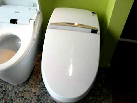 self opening toilet seat. Automatic Self Opening Toto Toilets  YouTube