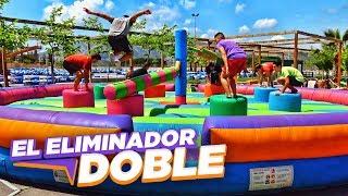 EL ELIMINADOR DOBLE HINCHABLE!!! RETO ÉPICO
