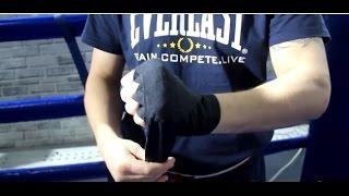 видео Как завязать бинты боксерские