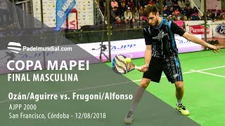 Final Masculina - San Francisco, Córdoba 2018