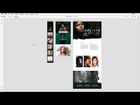 Web Prototype Full Screen Viewing Improvements