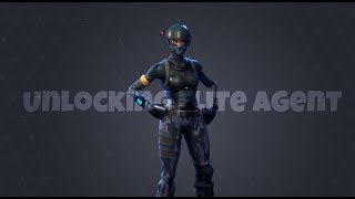Unlocking Elite Agent ! [Fortnite Battle royal]