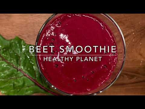 Beautiful Beet Vegan Smoothie