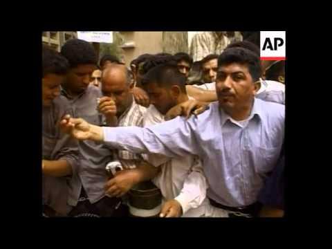 Iraqis protest US presence