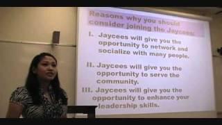 Sp 251 Informative Speech at Leeward Community College