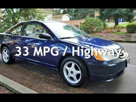 2002 Honda Civic Mpg >> 2002 Honda Civic Ex 35 Mpg 5 Speed Manual Moon Roof Premium