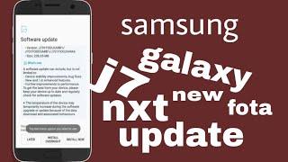 samsung galaxy j7 nxt new fota update good news for Samsung
