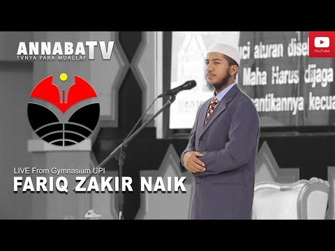 EXCLUSIVE LIVE | Fariq Zakir Naik Indonesia Visit 2017