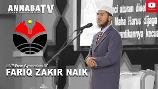EXCLUSIVE LIVE   Fariq Zakir Naik Indonesia Visit 2017