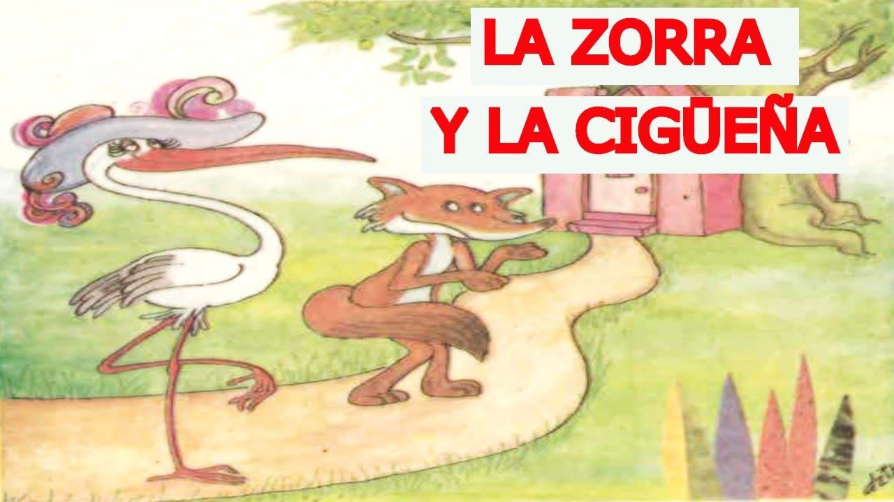 LIBROS DE PRIMARIA DE LOS 80. La zorra y la cigüeña - YouTube