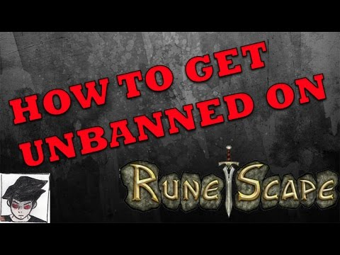 HOW TO GET UNBANNED ON RUNESCAPE - Hijacked accounts