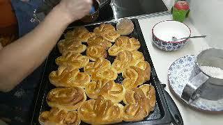 ОБАЛДЕННЫЕ булочки для любимых// быстро и вкусно