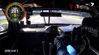 2013 E63 AMG Mercedes V8 Supercar Onboard Lap Barbagallo (Lee Holdsworth)
