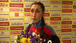 Екатерина Конева - ФИНАЛ Тройной, Чемпионат Европы в помещении 2015