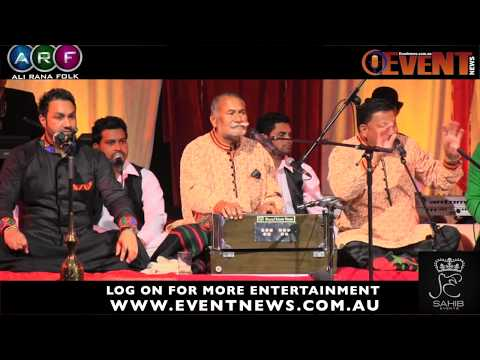 'Tujhe Dekha To' Wadali Brothers Great start of Sydney Show